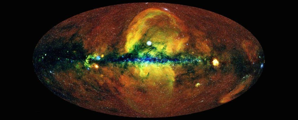 карта неба рентген