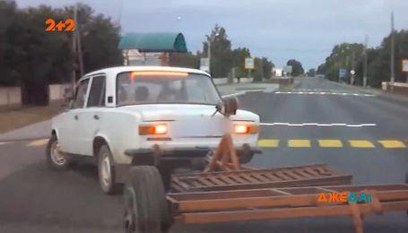 """В Гродно водій """"Жигулів"""" намагався втекти від поліції"""