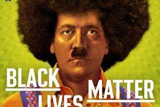 В Чехии вышел журнал с Гитлером в образе афроамериканца на обложке