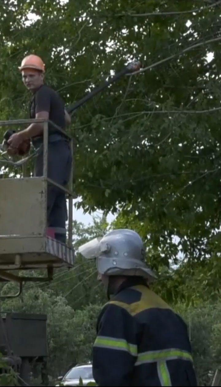 В 8 районах Полтавской области ликвидируют последствия непогоды