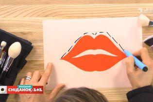 Как откорректировать форму губ с помощью косметики