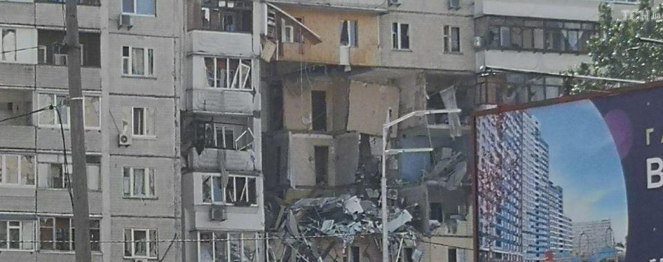 Вибух у багатоповерхівці Києва: з'явилися фото зруйнованого будинку