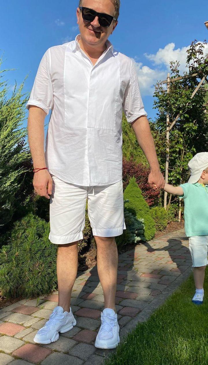 Юрий Горбунов с сыном Иваном