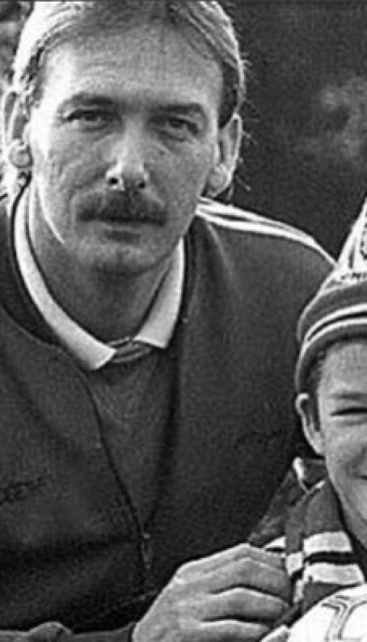 Дэвид Бекхэм с отцом