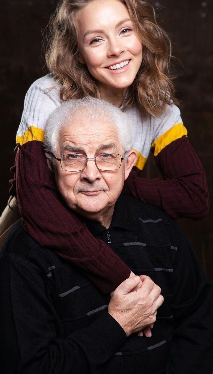 Алена Шоптенко с отцом