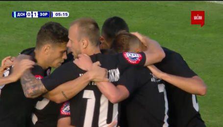 Десна - Заря - 0:1. Видео гола Кочергина