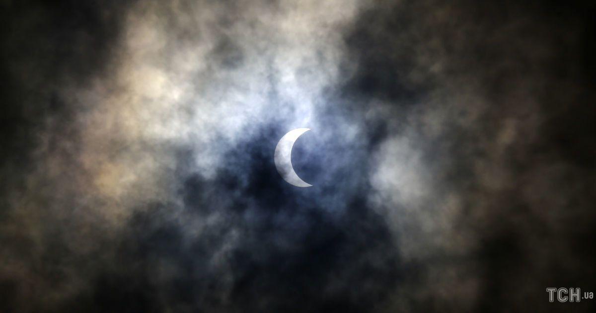 сонячне затемнення @ Associated Press
