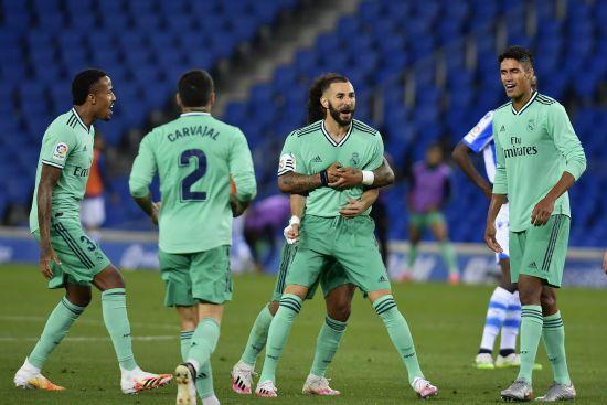 """""""Реал"""" скористався невдачею """"Барселони"""" та захопив лідерство у Примері"""