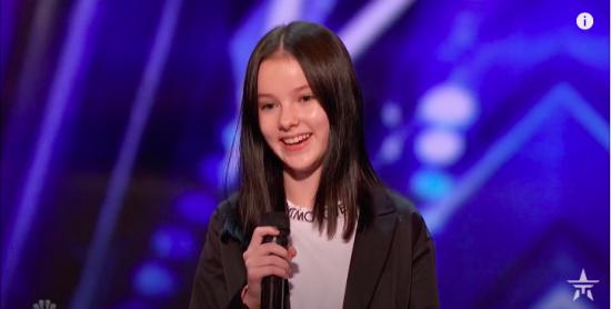 """Переможниця """"Голос.Діти-4"""" підкорила суддів на американському шоу талантів"""