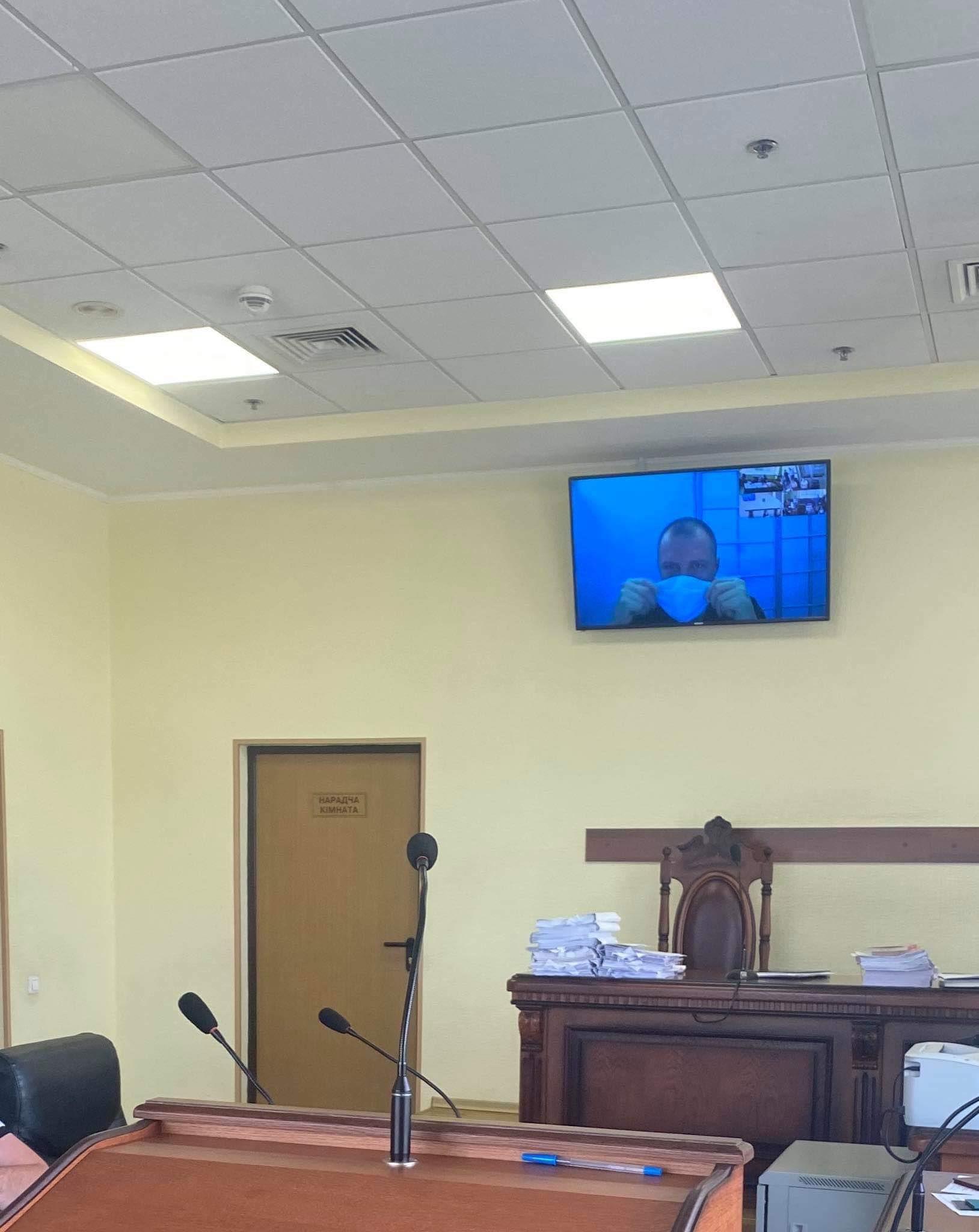 Підозрюваний у зґвалтуванні Сергій Сулима у суді