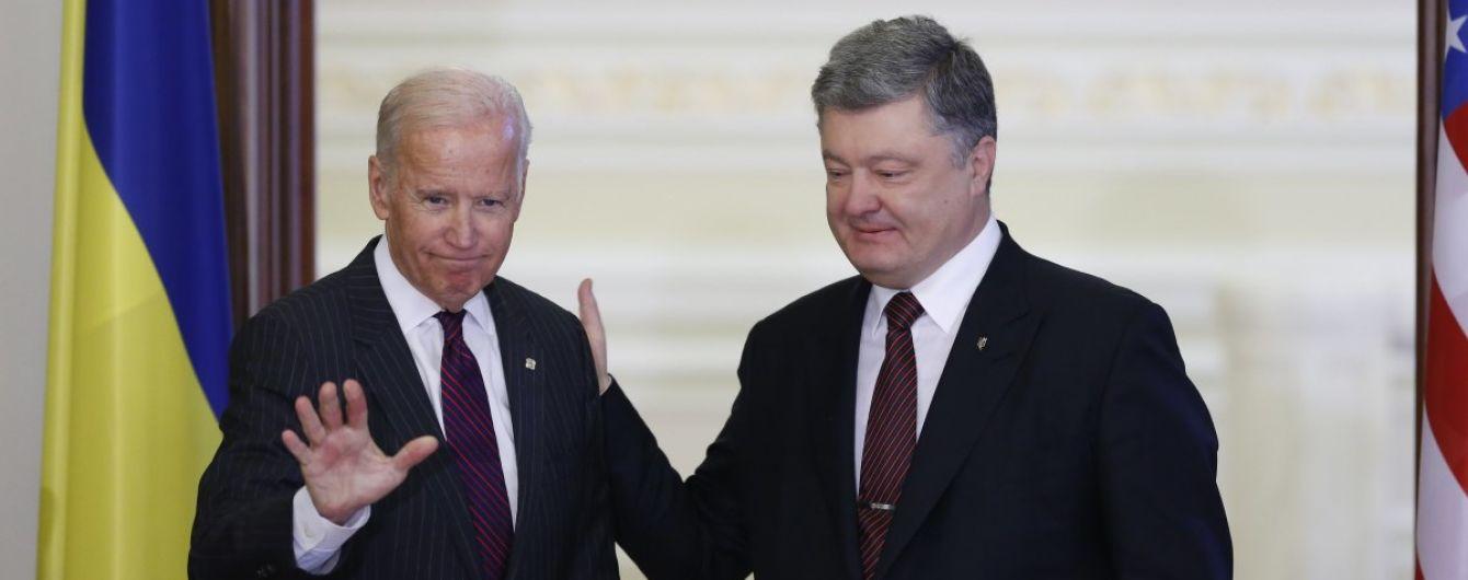 """Нові """"плівки"""" Деркача: Порошенко нібито обговорював з Байденом Онищенка, Яценюка і Burisma"""