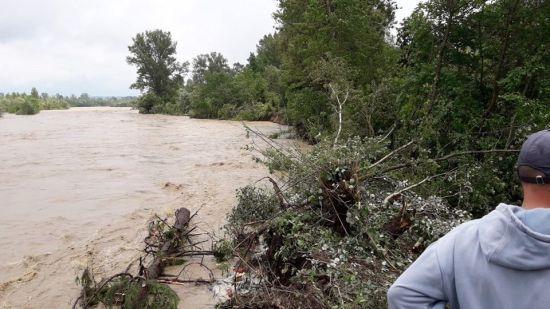 У Чернівецькій області прорвало дамбу: є загроза підтоплення кількох сіл