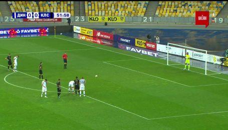 Динамо - Колос - 0:0. Відео незабитого голу Богданова з пенальті