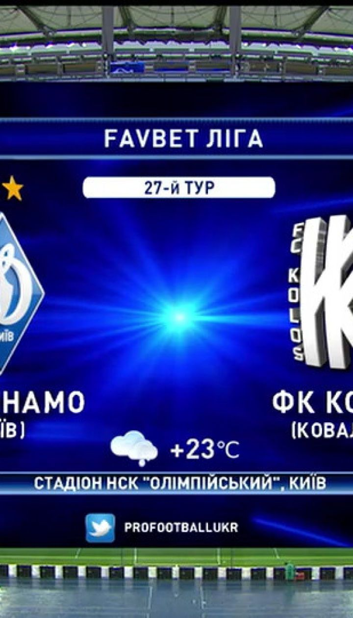 Динамо - Колос - 2:1. Обзор матча