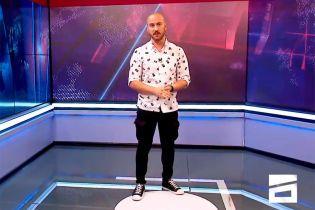 Грузинский ведущий, который обматерил Путина, снова обругал его в эфире телеканала