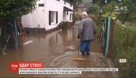 Потужні повені у Чехії забирали життя щонайменше трьох людей