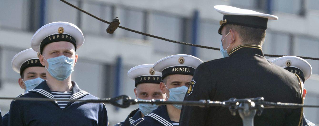 У 16 російських моряків на пришвартованому у Південній Кореї кораблі РФ виявили коронавірус