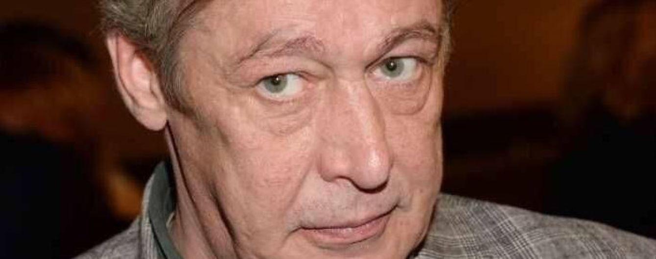 Михаилу Ефремову диагностировали хронический алкоголизм