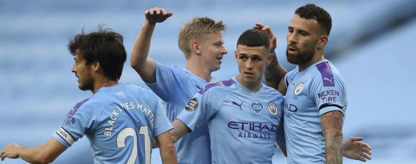 """Манчестер Сити"" снова уничтожил соперника, который не нанес ни одного удара в створ ворот"