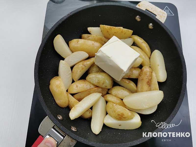 Молодая картошка в духовке_3