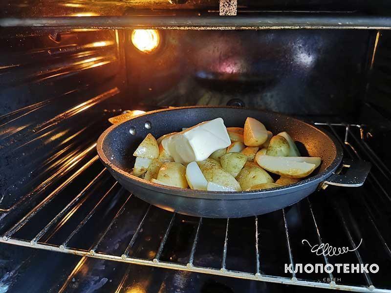 Молодая картошка в духовке_4