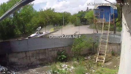 """""""Думська"""" опублікувала відео падіння літака в Одесі"""
