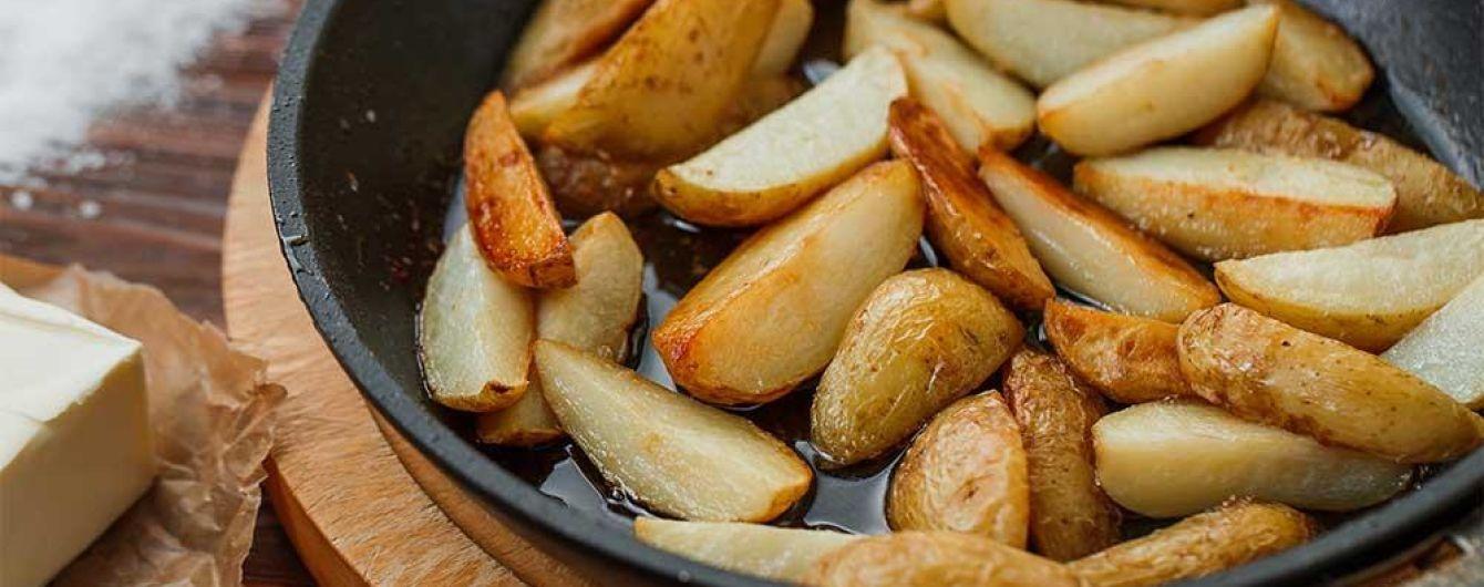 Молодой картофель в духовке от Евгения Клопотенко
