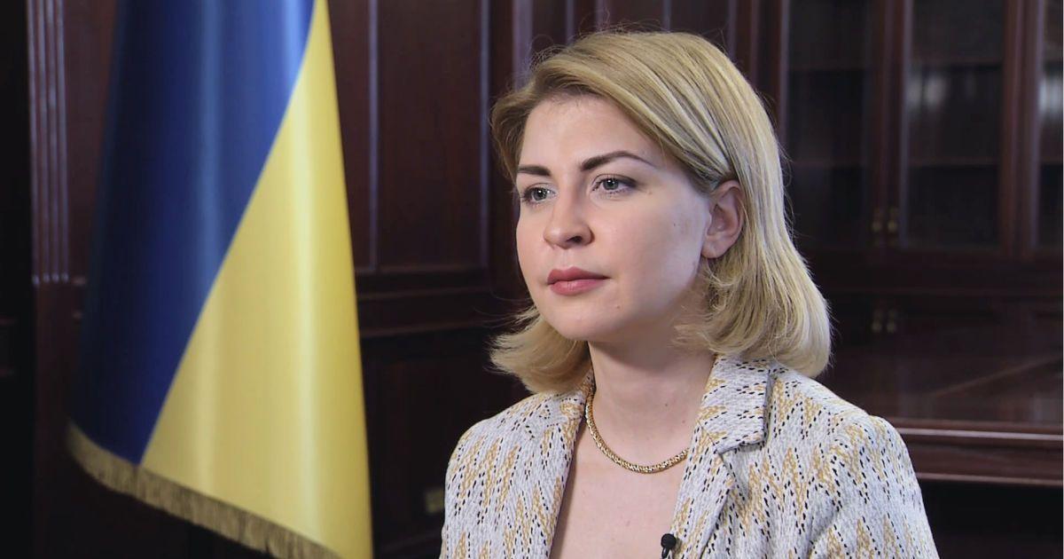 Україна очікує введення санкцій проти оточення Путіна, якщо РФ загострюватиме ситуацію — Стефанішина