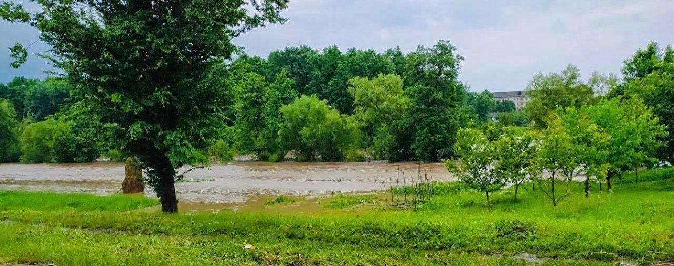 У Львівській області з берегів вийшла річка: затоплено село