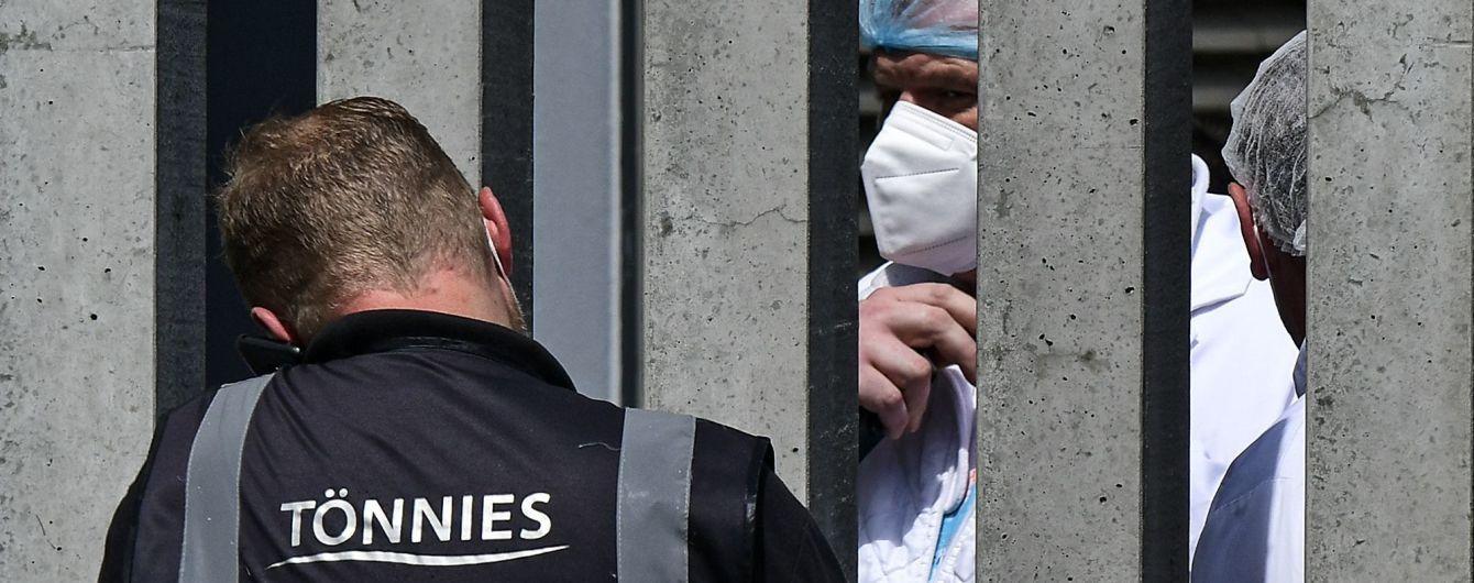 Вспышка коронавируса на мясокомбинате в Германии: более полутора тысяч инфицированных