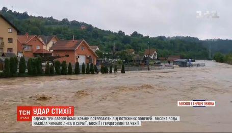 Європа потерпає від масштабних повеней, які спричинили дощі