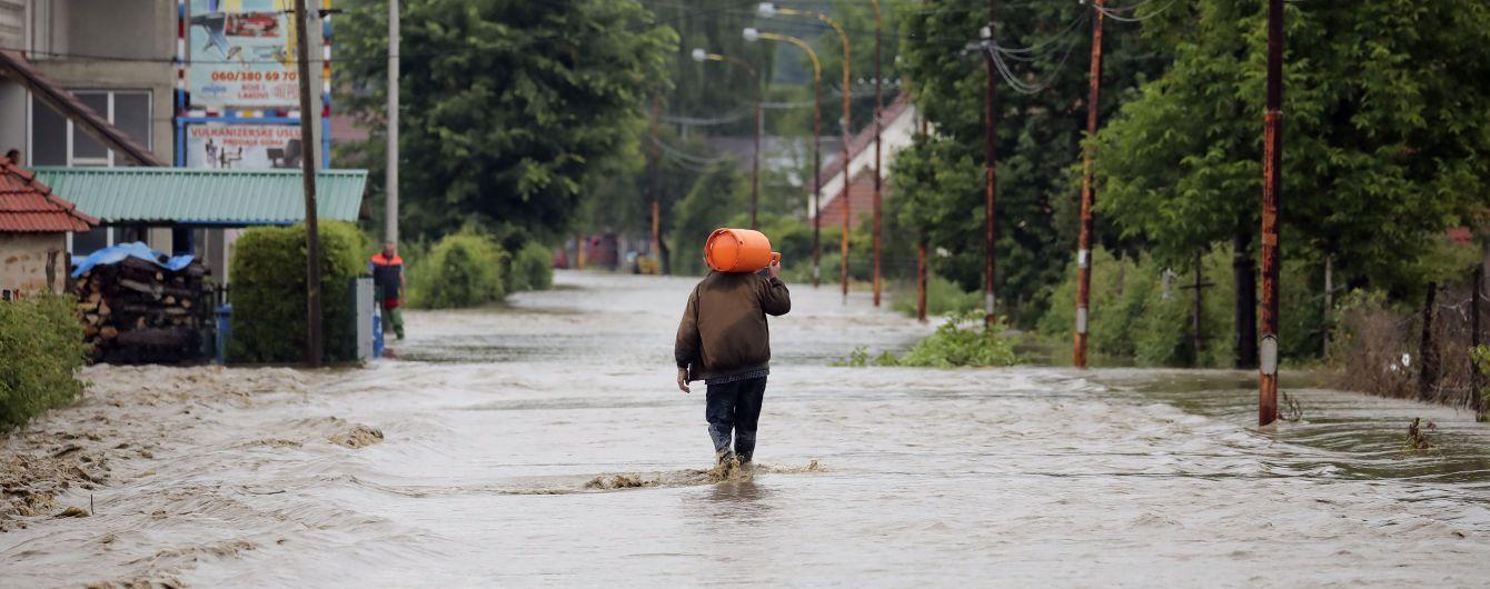 В семи муниципалитетах Сербии объявлено чрезвычайное положение из-за масштабных наводнений