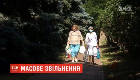 Медики харьковского диспансера ушли из заведения, когда узнали, что к ним везут больных на коронавирус