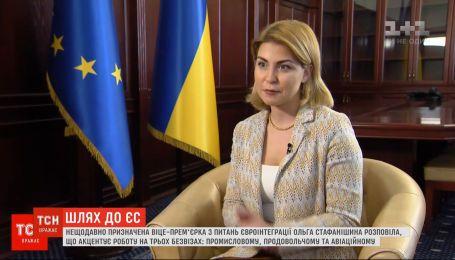Ексклюзив tsn.ua: віцепрем'єрка з питань євроінтеграції розповіла про роботу над безвізом