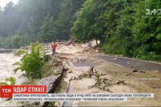 Руйнівна стихія: понад півсотні сіл на Західній Україні затоплені