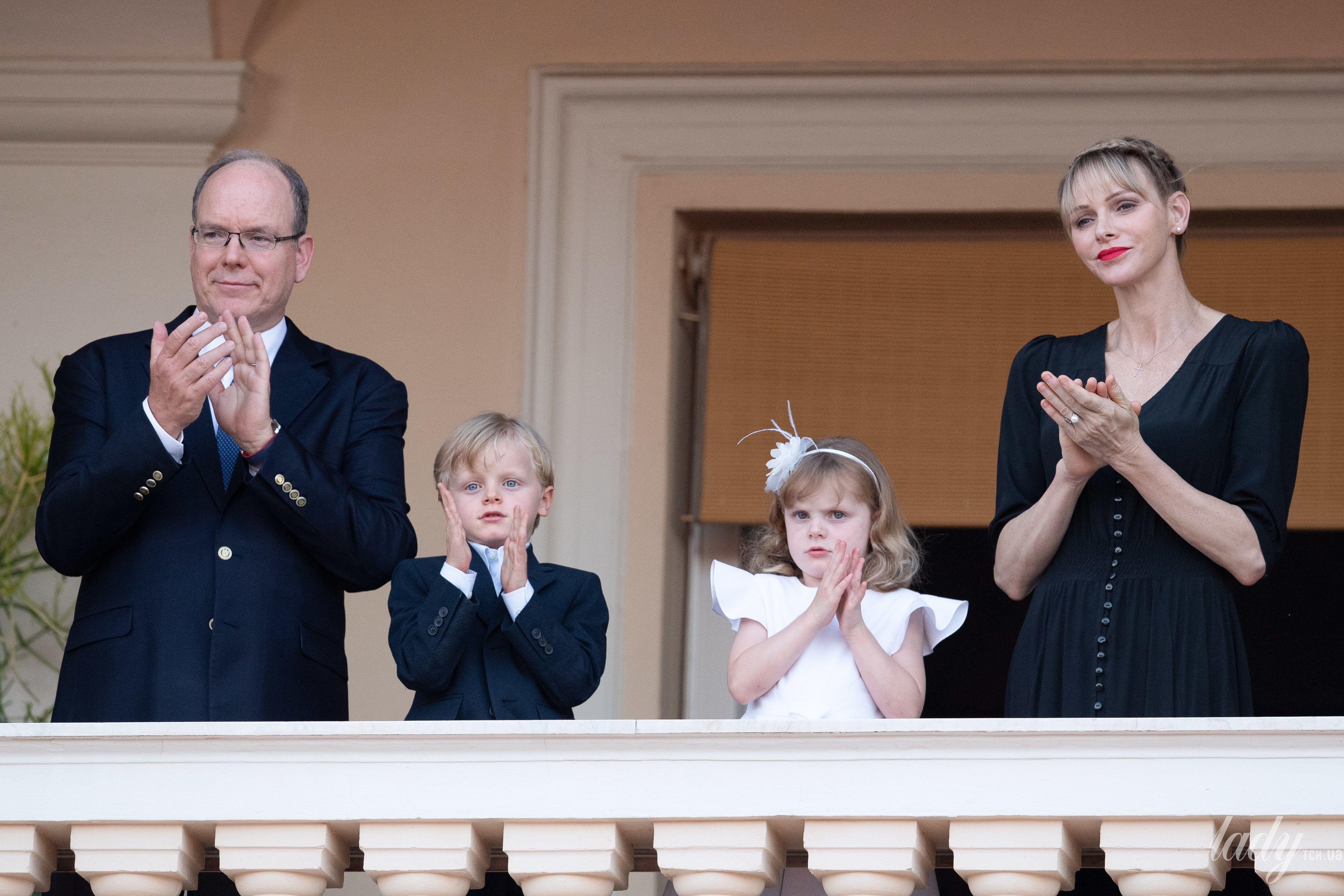 Княгиня Шарлин и князь Альбер II_1