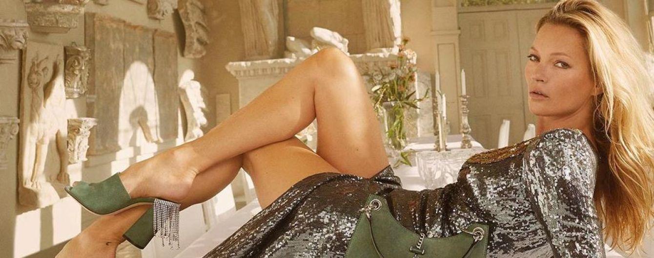 Сучасна, сексуальна і стильна: Кейт Мосс стала обличчям рекламної кампанії Jimmy Choo