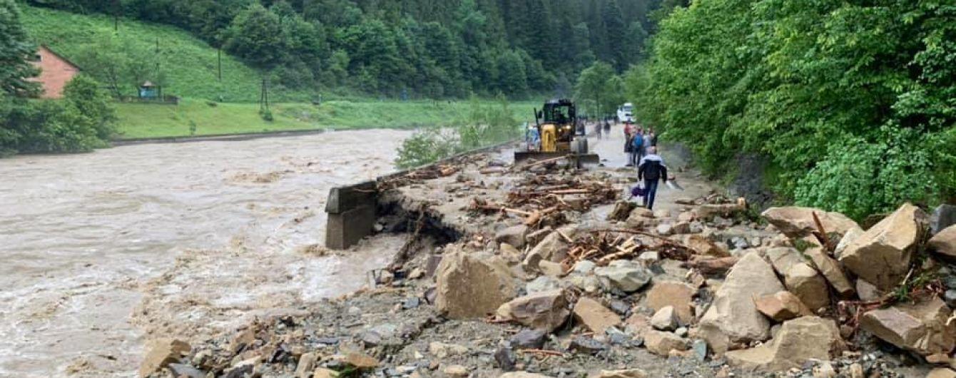 Есть угроза подтопления: в реках Карпатского региона ожидаются подъемы уровней воды