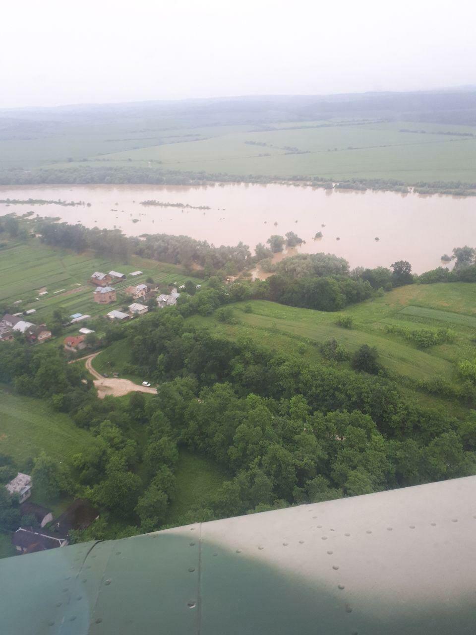 підтоплені села на закарпатті