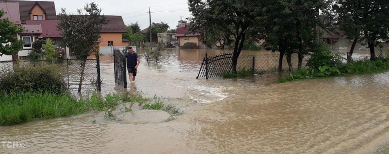 Река Днестр разлилась и затопила целые села на Прикарпатье: появилось видео
