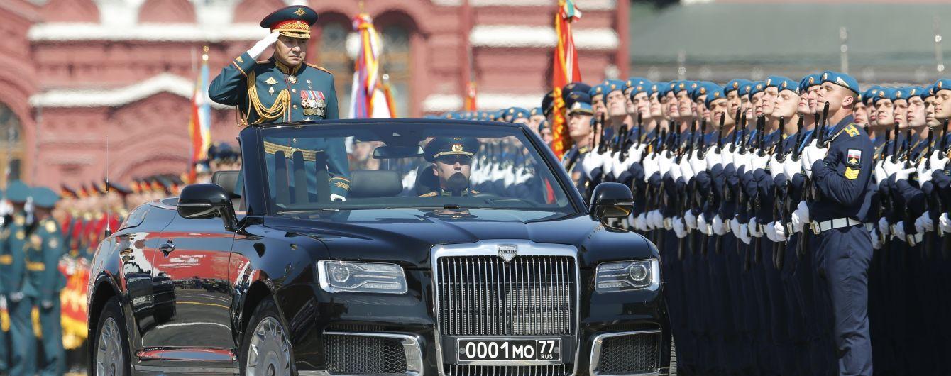 На парад Победы в Москве приехали представители лишь нескольких государств: лидеры ЕС не появились
