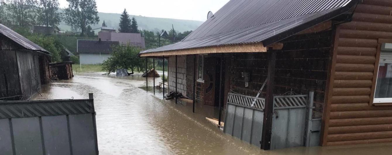 На Прикарпатті стало відомо про четвертого загиблого від повені