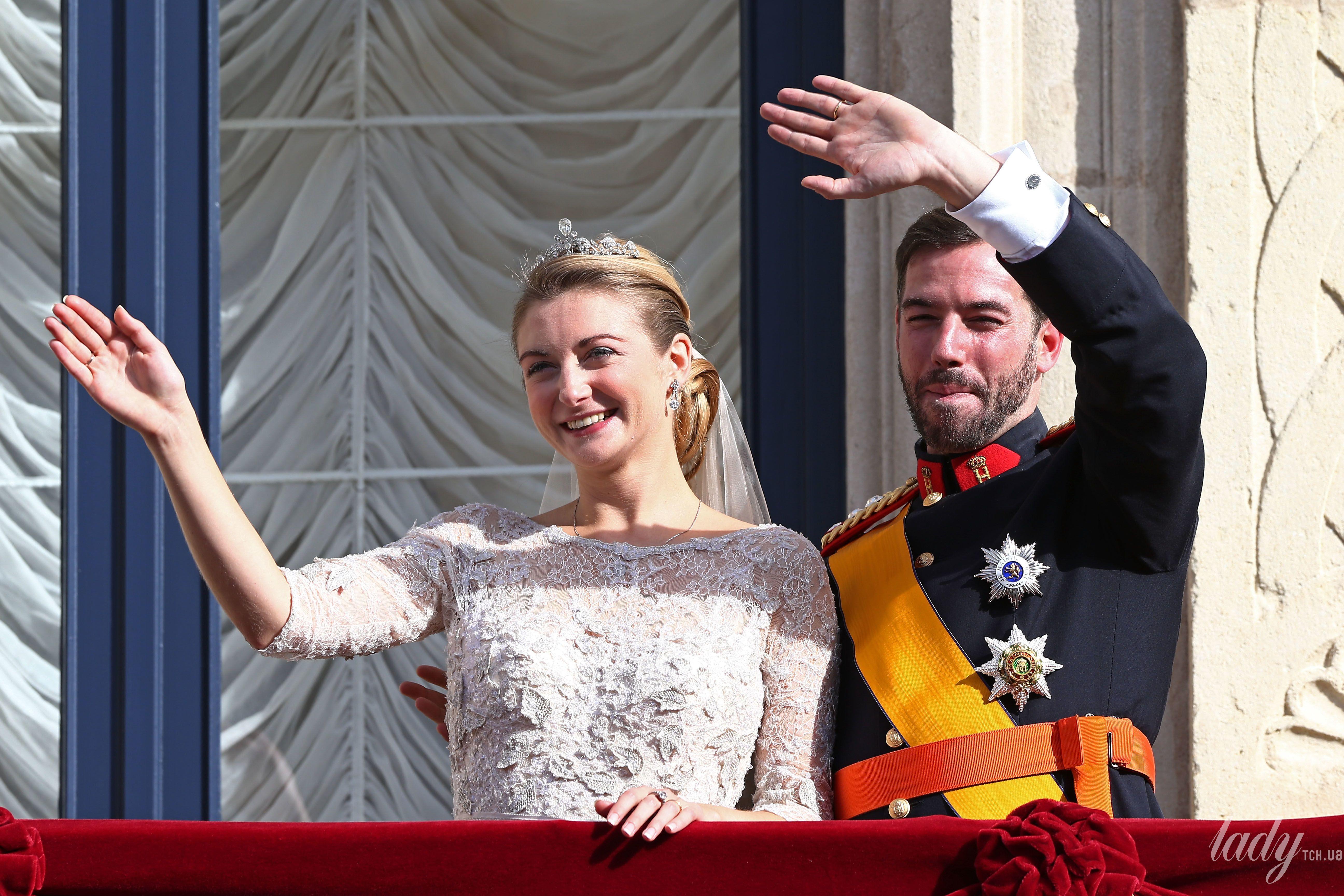 Принц Люксембурга Гийом и принцесса Стефания_2