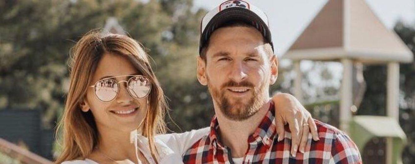 Мессі - 33: Антонелла Рокуццо привітала коханого романтичними фото в Instagram