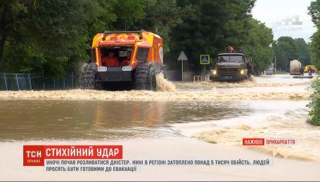 Стихійний удар: що відбувається на Буковині і Прикарпатті