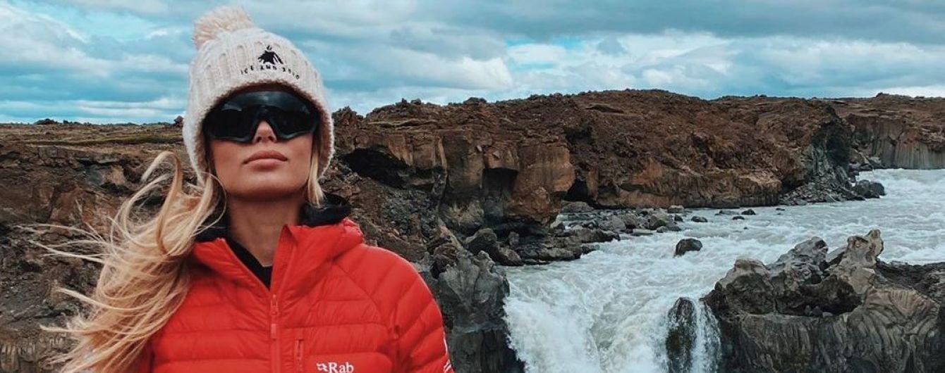 Втекла в зиму: Фріда Аасен поділилася ефектними знімками зі своєї подорожі до Ісландії
