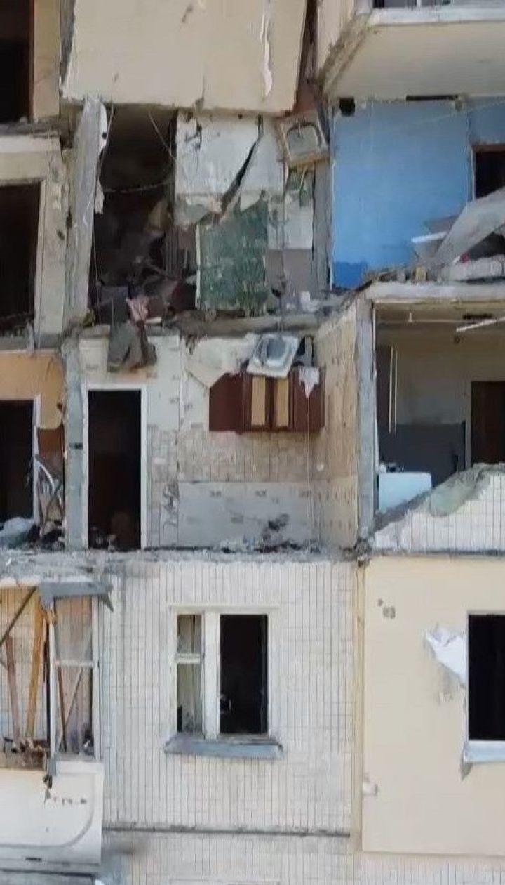 Трагедия на Позняках: жителям аварийного подъезда разрешили забрать свои вещи