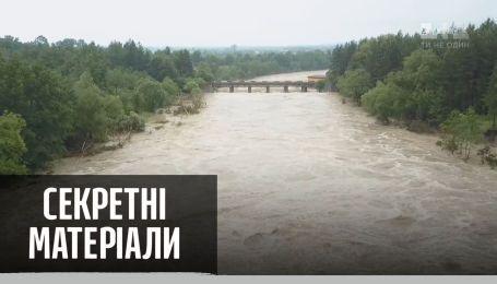 Запад Украины страдает от масштабных наводнений – Секретные материалы