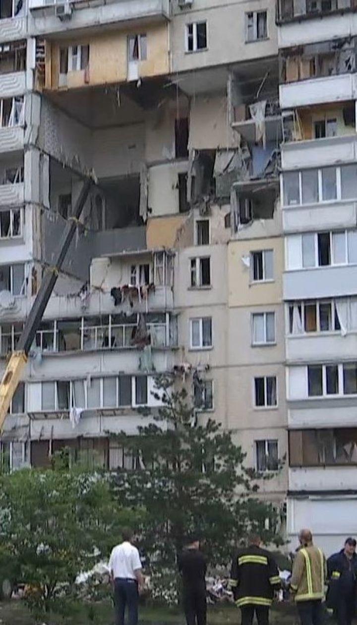 Демонтувати пошкоджений під'їзд багатоповерхівки на Позняках швидко не вдасться