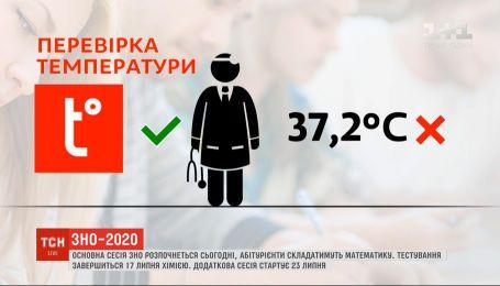 В Украине стартует ВНО по математике